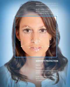Überprüfung der biometrischen Daten